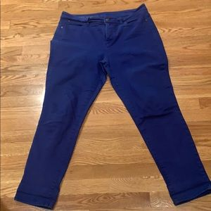 Kentucky Blue skinny Ankle jeans